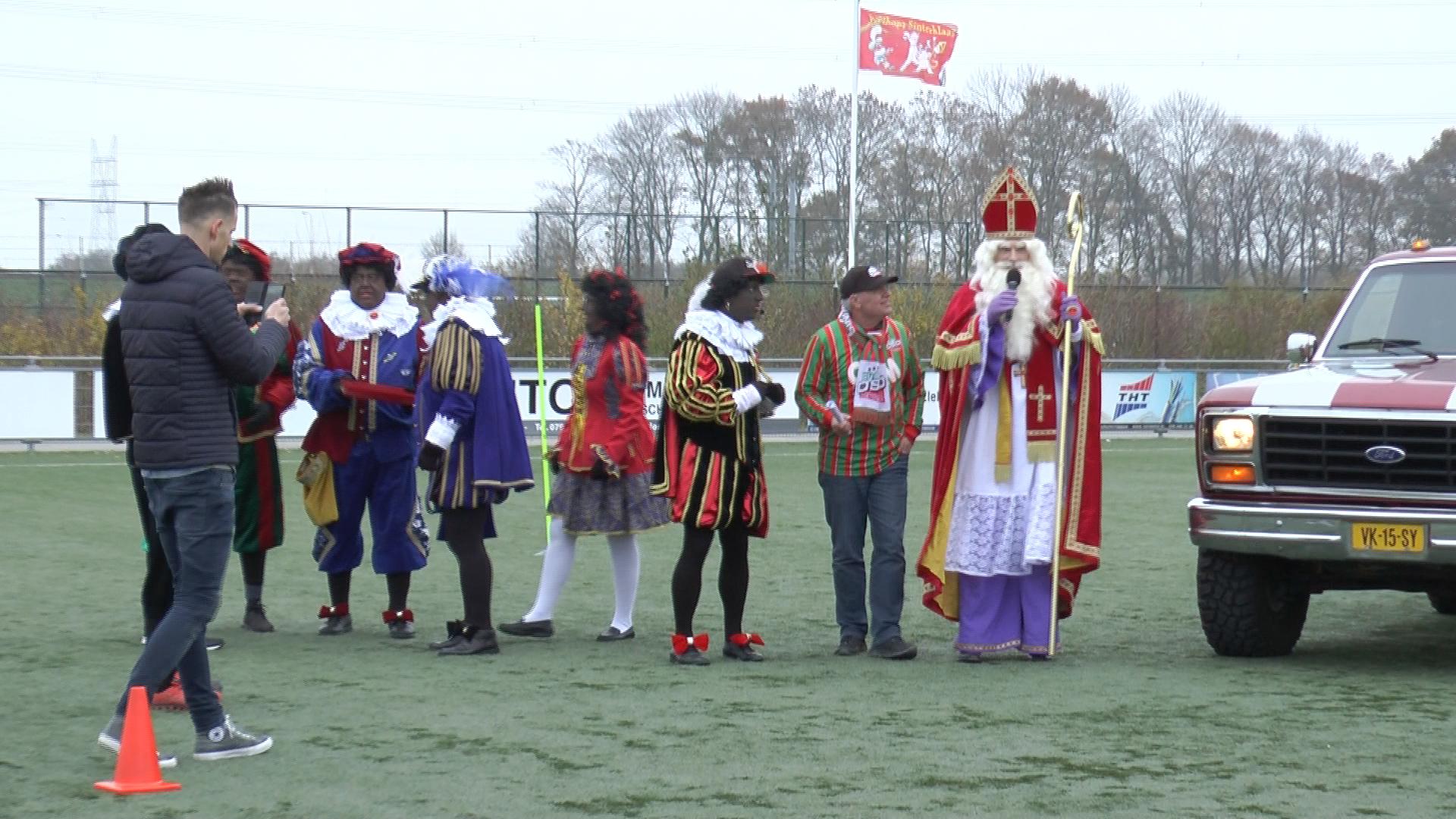 Sinterklaas op bezoek bij DSO