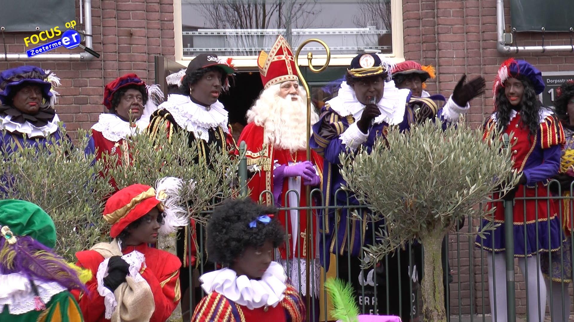 Sinterklaas in Dorpsstraat Zoetermeer
