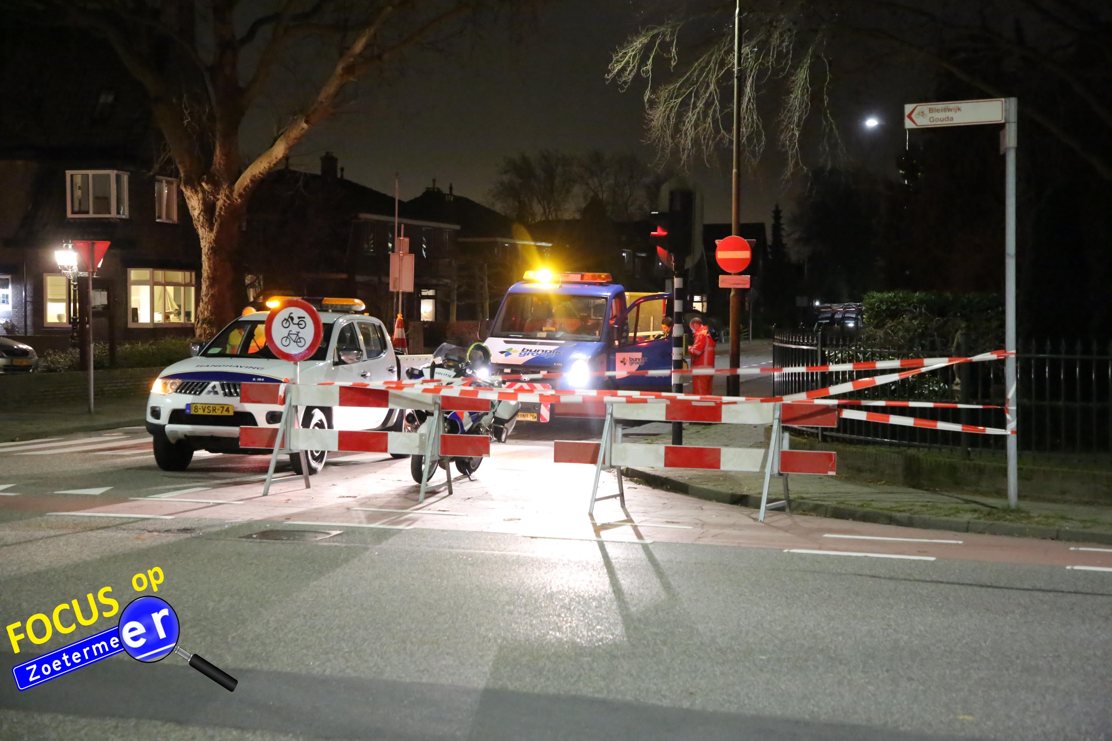 Gemeente Zoetermeer geschrokken van ongevallen Karel Doormanlaan; direct maatregelen op kruising