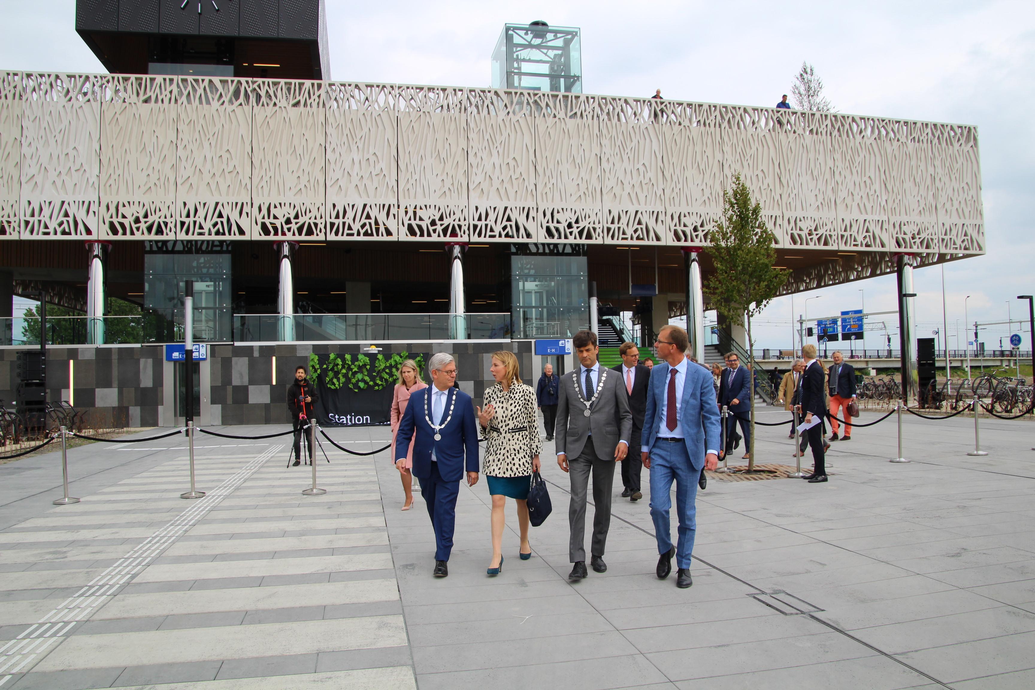 Station Lansingerland-Zoetermeer officieel geopend
